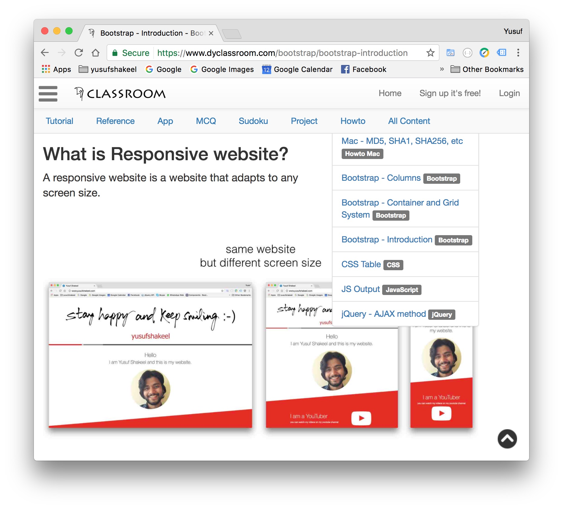 Bootstrap - Images - Bootstrap - DYclassroom | Have fun