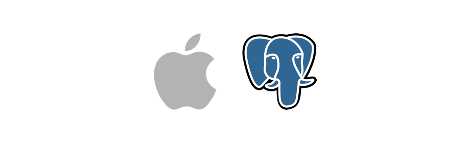 apple postgresql homebrew brew mac