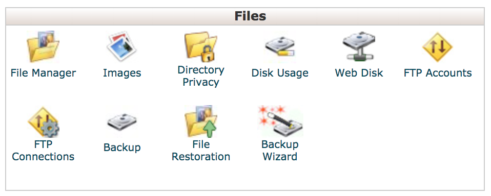 cpanel database creation done